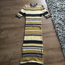 Lovely Dress H and M Large /14 Yellow Mix Used Photo