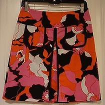 Lovely Elements G Amazing Bright Colors in the Skirt in a Floral Pattern Oranges Photo