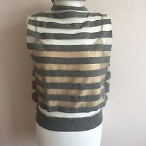 Lovely Marc Jacobs Main Line Wool and Synthetic Knitted Stripy Top Size M Photo