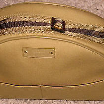 Lovely Modernist Style Beige Gucci Cosmetic Purse/handbag Xl Cond Photo