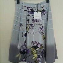 Lovely New Great Plain Colour Lavender Blush Combo Skirt Size Uk 6 Photo