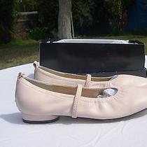 Lovely Nib Newport News Flat Ballet Slippers in Blush Pink Photo
