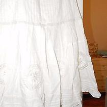Lovely White/off White Skirt Kensie  Women Size 6 Photo