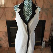 Lovers  Friends Black & White Dress Size M Photo