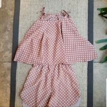 Lovers  Friends Pink Polka Dot Jumpsuit/romper Size S Photo