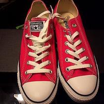 Low Top Rasberry Converse Shoes Photo