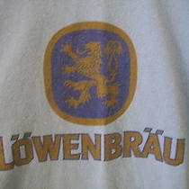 Lowenbrau Beer T Shirt Munich Germany Lions Brew L Ringer Retro Ale Blue Griffin Photo