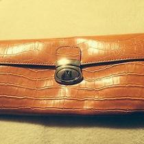 Lu Lu Orange Clutch Bag  Photo