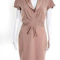 Luca Luca Blush Pink Wool Dress Size 44 Bn 635 Photo
