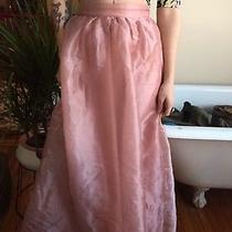 Lucca Couture Nippon Blush Pink Long Maxi Sheen Taffeta Skirt Xs S Nasty Gal Photo