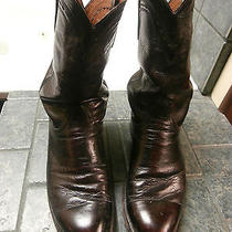 Lucchese 2000 Boots in Burgundy Size 9 1/2 Ee Photo