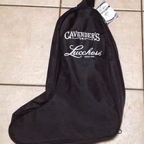 Lucchese Black Travel Boot Bag Cavenders Brand New Nwt Boot Socks  Photo