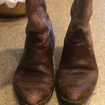 Lucchese Boots-Brown/tan Photo