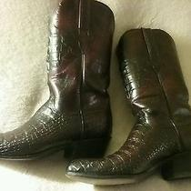 Lucchese Boots - Custom Made Crocodile  Photo