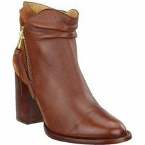 Lucchese Britta Cowboy Ies  Casual   Booties - Red - Womens Photo