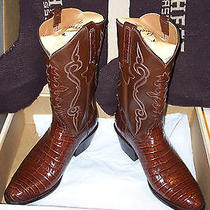 Lucchese Classics Belly Caiman - New in Box Photo