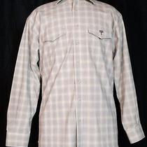 Lucchese Classics Men's Western Style Long Sleeve Dress Shirt Size L Photo