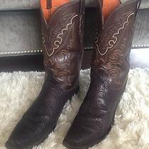 Lucchese Custom Stingray Boots Men's Size 13 Photo