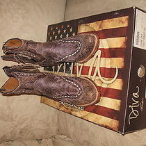 Lucchese Diva Purple Boots  Photo