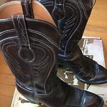 Lucchese Mens Cowboy Boots Size 9 D Photo