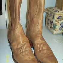 Lucchese Since 1883 Cowboy Boots N4603-54 - Antique Saddle Burnished Photo