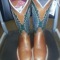 Lucchese Sq Toe Sz 9-91/2-10-101/2-11- D Medium Classy Boot Photo