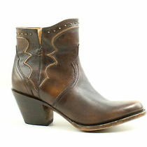 Lucchese Womens M6010 Maple Cowboy Western Boots Size 8 (469159) Photo