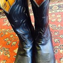 Luchese  Vintage Mens Boots Vintage Photo
