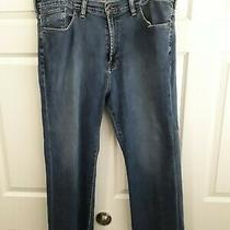 Lucky Brand 181 Relaxed Straight Blue Jeans Men's Size 40x32 Photo
