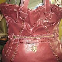Lucky Brand Abbey Road Like Sunset Junction Leather Foldoverconvertible New Photo