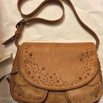 Lucky Brand Beckman B Hobo Lb1422 Cognac Photo