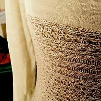 Lucky Brand Beige Sweater  Photo