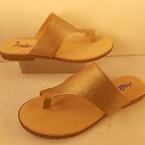 Lucky Brand (Brand New) Gold Leather  Sandal  8 M 79.00 Photo