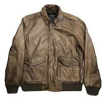 Lucky Brand Brown Lamb Leather Jacket  Photo
