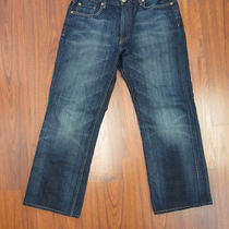 Lucky Brand by Gene Montesano Nordstrom Blue Short Inseam Mens Jean Sz 32 Photo