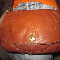 Lucky Brand Crossbody Hobo in Soft Brown Supple Lamb Leather  Nx2new Photo