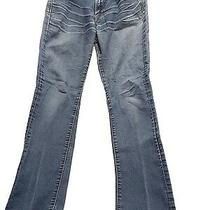 Lucky Brand Denim Blue Jeans Womens Size 2 Medium Wash Photo