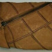Lucky Brand Distressed Brown Lamb Hide Crossbody/shoulder Bag/clutch/purse Euc Photo