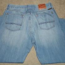 Lucky Brand Duke Straight Leg Men's Jeans Size 38 X 30 Nice Photo