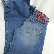 Lucky Brand Dungaree Jeans Sz 4/27  Photo