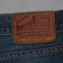 Lucky Brand Dungarees Jeans Size 38 Photo