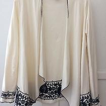 Lucky Brand Embroidered Wrap Jacket Photo