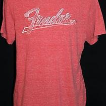 Lucky Brand Fender Guitar Men's T-Shirt Size L New With Tags Photo