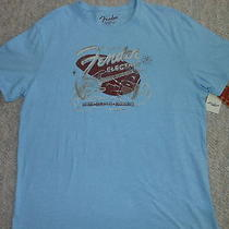 Lucky Brand Fender Guitars T-Shirt (Mens Xl) (New With Tags) Photo