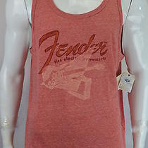 Lucky Brand Fender Mens Sleeveless Tank 2xl Electric Guitars Graphic Tee New Nwt Photo