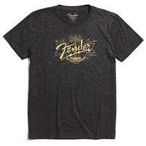 Lucky Brand Fender Radio T-Shirt Black Heather Men's 2xl Bnwt Fast Free Shipping Photo