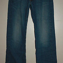Lucky Brand Fender Relaxed Bootleg Jeans Size 31 X 32 Photo