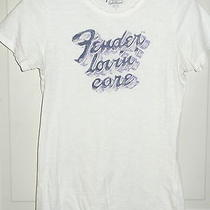 Lucky Brand Fender Top Tee T Shirt Fender Lovin Care Loving Sz S Ladies Womens  Photo