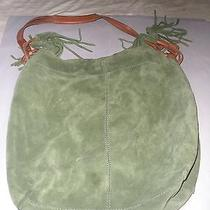 Lucky Brand Green Suede Purse Photo