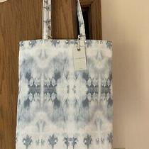Lucky Brand Handbag Promo Tote Bag in Blue Tie-Dye Snap Closure New With Tags Photo
